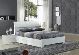Widney White bed from sams beds reading